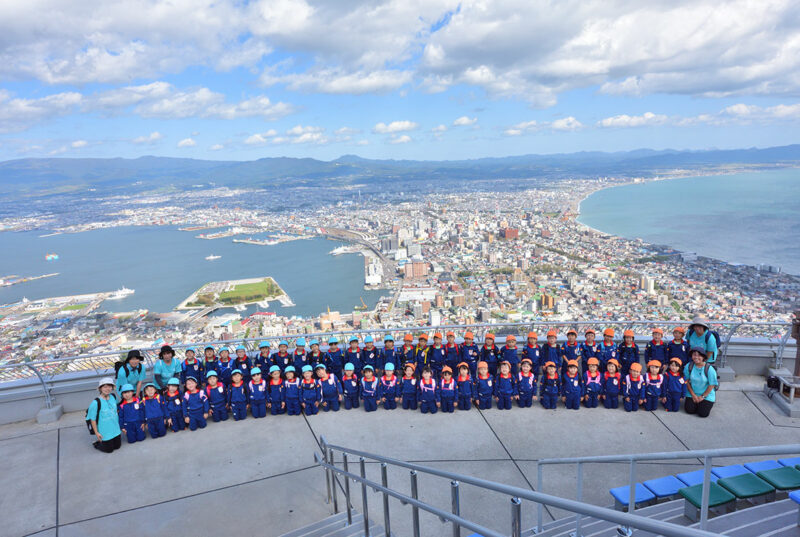(画像)函館山登山