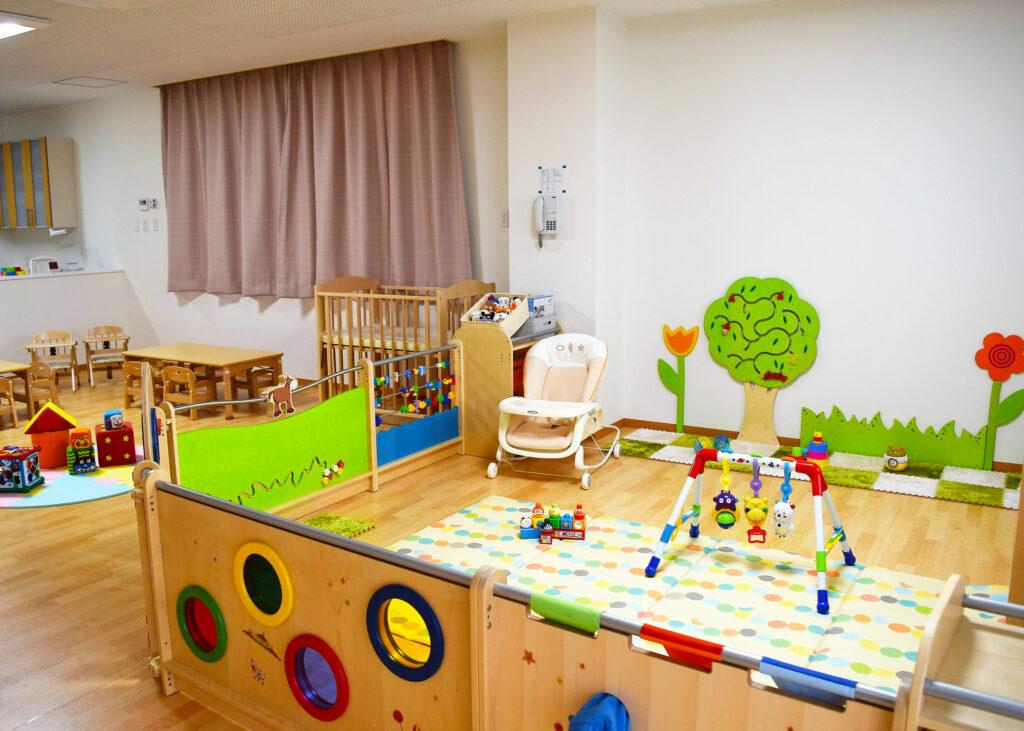 (画像)0歳~2歳 保育室